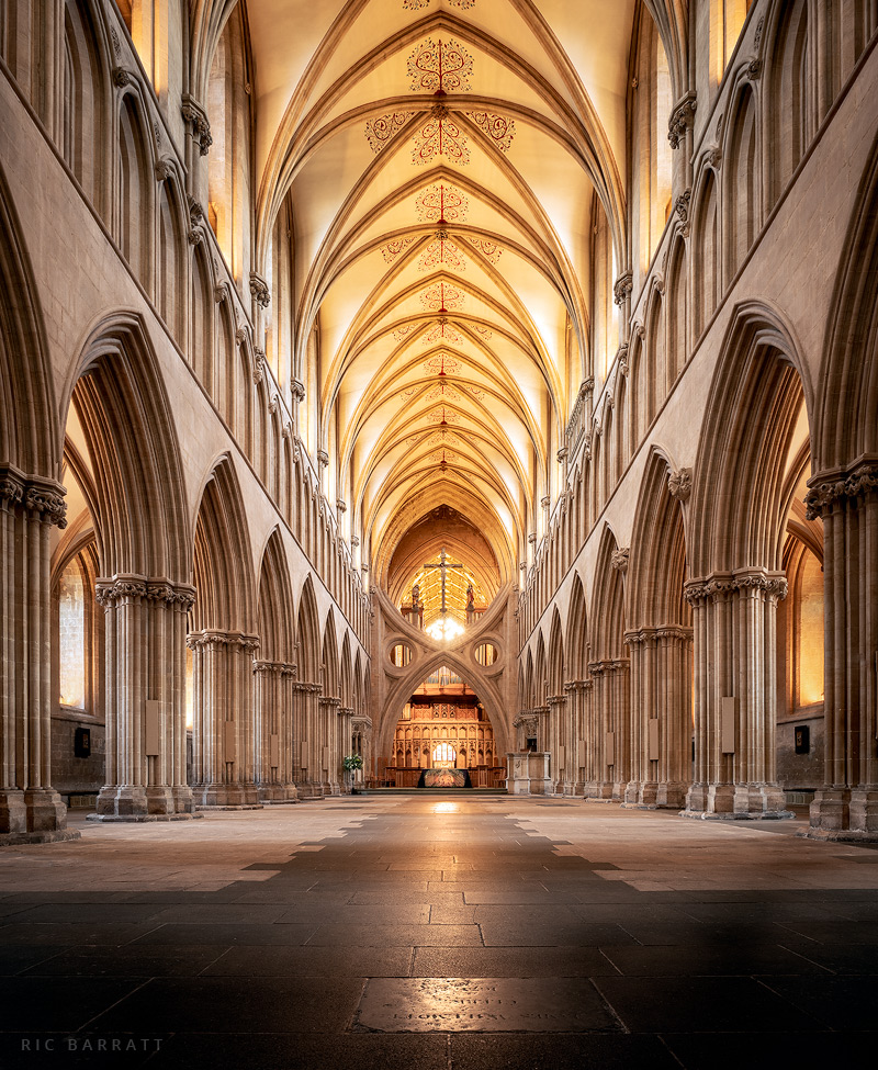 Interior of Wells Cathedral